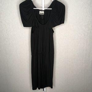 Under.ligne Black NWT Soft Short Sleeve Dress